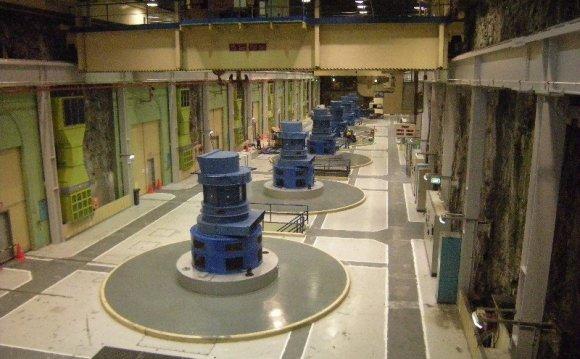 Manapouri HEP Station Turbines
