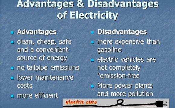 Advantages & Disadvantages of