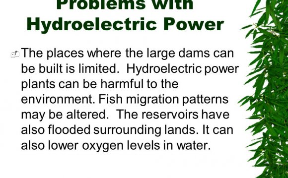 Problems with Hydroelectric