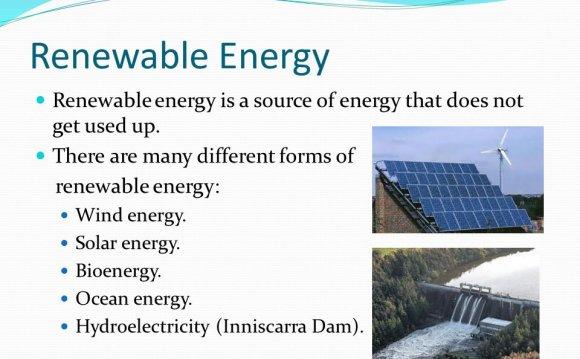 Renewable Energy Renewable