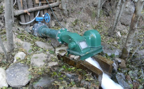 Water Powered Cross Flow