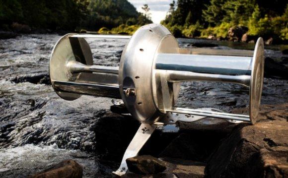 Idenergie River Turbine | altE