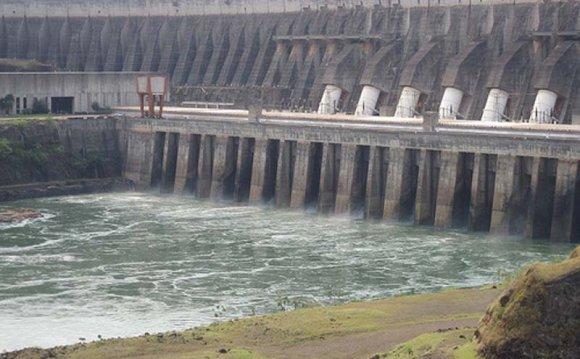 Itaipu Dam Power Plant