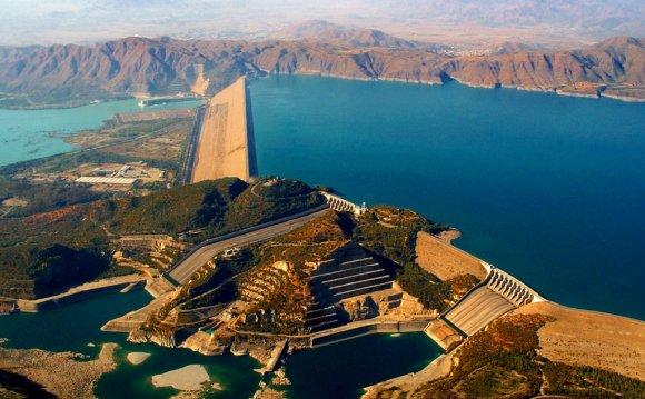 Biggest Tarbela Dam is