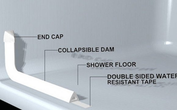 Collapsible Water Dam Diagram