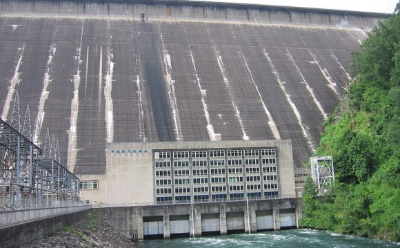 Fontana Dam is the highest dam