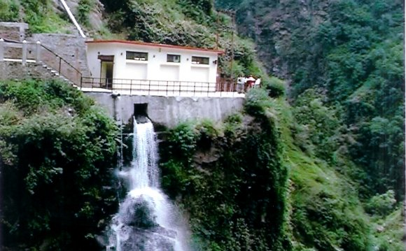 A small hydropower plant