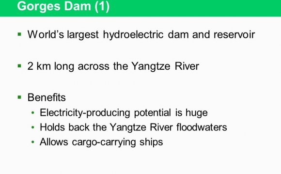 Dam (1) Worlds largest