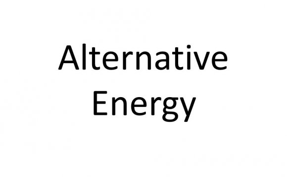 Alternative energy Hydroelectric Power