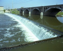 Kankakee Low-Head Hydropower Facility in Illinois (1.2 megawatts installed capability)