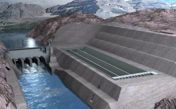 Neelum Jhelum hydropower project
