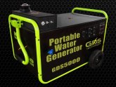 Water power generator systems